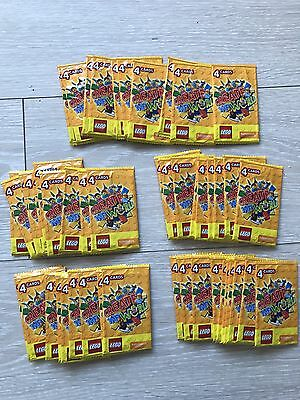 100x Unopened Packets (400 Cards) Lego Sainsbury's Create The World Minifigure