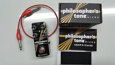 LIKE NEW Pigtronix Philosopher's Tone Micro Compressor Sustain Pedal