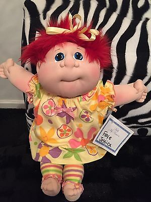 """CABBAGE PATCH Soft Sculpture 2017 LIttle People LULLABY Girl Mint 12"""""""