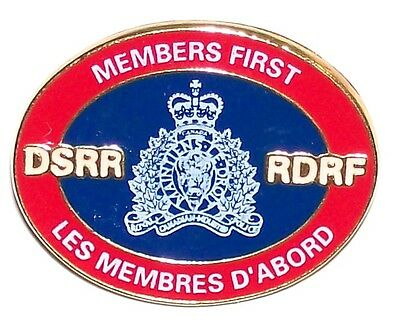 Rcmp Grc Members First Dssr Association Royal Canadian Mounted Police Lapel Pin