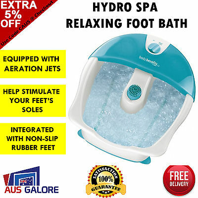 Conair Foot Spa Massage Bath Footspa  Bubbles Pedicure Massager Feet Relaxation