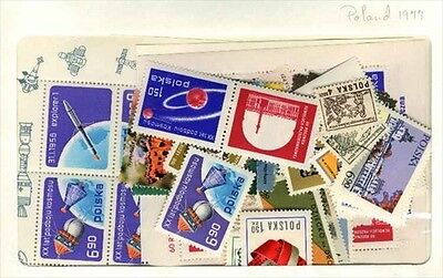 Poland 1977 MNH Year set