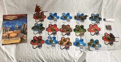 Heroscape Rise of the Valkyrie 2nd edition Lot Huge set 29 Figures + Cards Dice