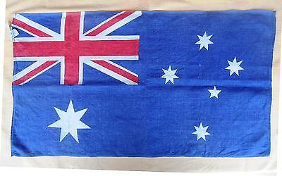 Australia Flag Fabric Wall Hanger One Side  28 x 16 inch Decoration Tablecloth