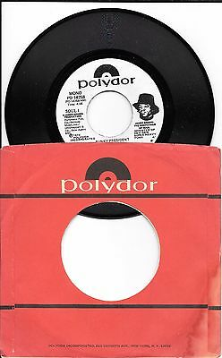 JAMES BROWN - Funky President - Coldblooded - VERY RARE PROMO - PD 14258 - NM