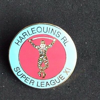 Rugby League Badge Harlequins light outer circle