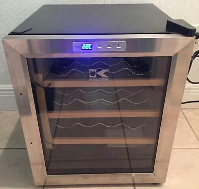 Kalorik Thermoelectric 16 Bottle Wine Cellar Bodega USK WCL 32963 Black/Silver