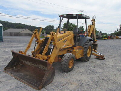 1996 Case 580L 4x4 Tractor Loader Backhoe w/ Extend-A-Hoe!