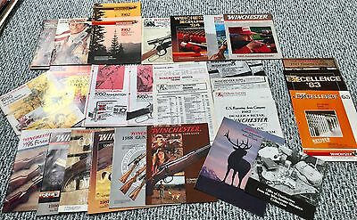 Vintage Winchester Catalogs 1989's Over 30 Items