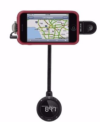 BELKIN TUNEBASE FM WITH HANDS-FREE FOR iPhone 4 4s, 3/3GS, IPOD TOUCH, IPOD NANO