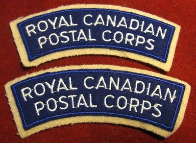Canada: Royal Canadian Postal Corps shoulder flashes (set of 2)