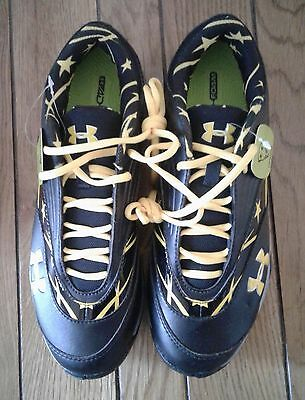 New with Tags Under Armour Turf Women's Lacrosse Shoes Cleats Size 9.5 No Box