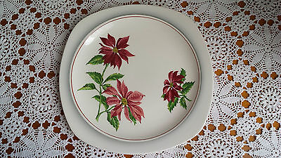 Stylecraft by Midwinter Staffordshire Semi-Porcelain England Lunch Plate 1950's