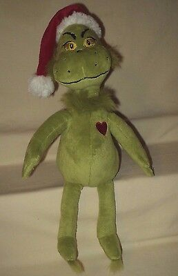 "Dr Seuss How Grinch Stole Christmas 16"" Plush The Grinch Doll"