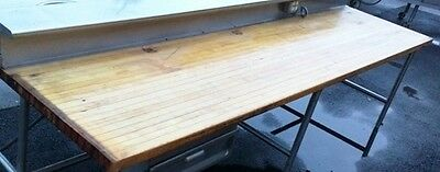 Table Wood Bakers Best Table 120 x 30 x 2.5 inch Thick