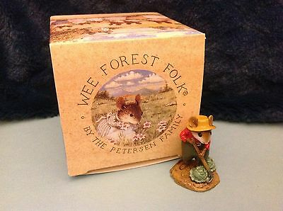 Wee Forest Folk, M-238 Hoe Joe, 1998, New in Box