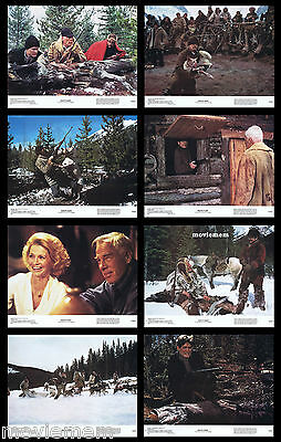 DEATH HUNT Vintage Lobby Card set Charles Bronson Lee Marvin Angie Dickinson