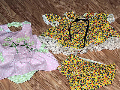 Two Vintage Outfits  For  Patti Play Pal Or  Similar Dolls