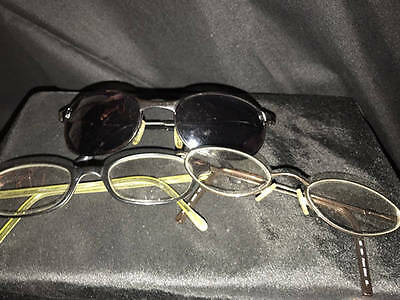 2 Childs Prescription Glasses/pair Of Sunglasses~Very Strong