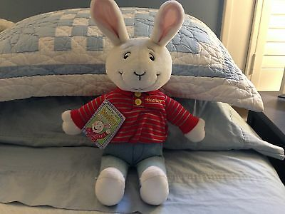 "NWT 1997 Eden Arthur Plush 18"" BUSTER Bunny Rabbit Stuffed Animal Toy Marc Brown"