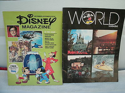 Disney  Magazine-1976 Nov-Dec Issue--Proctor & Gamble Promo & World Magazine