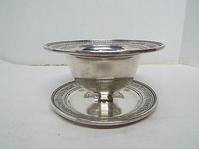 Antique Wedgwood Sterling Silver Serving Bowl - Ornate