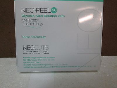Neocutis Neo-Peel 40 applicators / Pads W/ Melaplex Technology NEW