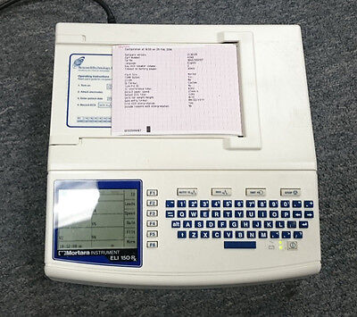 Mortara ELI150rx ECG/EKG Machine w/Interpretation...Clearance!