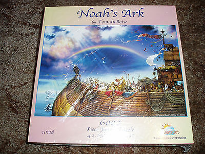 Noah's ark puzzle-----   6000 pieces---- made in the  usa.