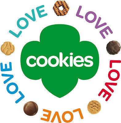 GIRL SCOUT COOKIES - 1 case - 12 Boxes - Caramel deLites, Smores, Peanut Butter+