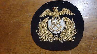 Vintage United States Navy Gold Bullion Thread Patch   Bx  900 #4