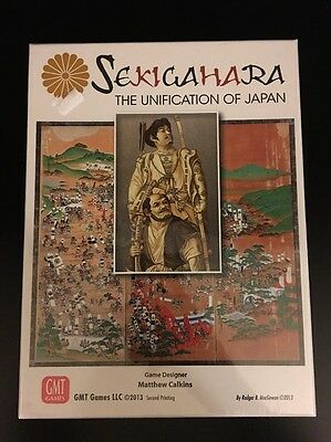 Sekigahara: The Unification of Japan GMT Board Game NEW