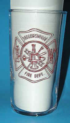 75th Anniversary Sellersville PA Fire Dept August 1, 1964 Federal Glass