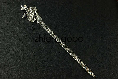 China new noble fashion Tibet silver carving Fancy Hairpin LJQQ125