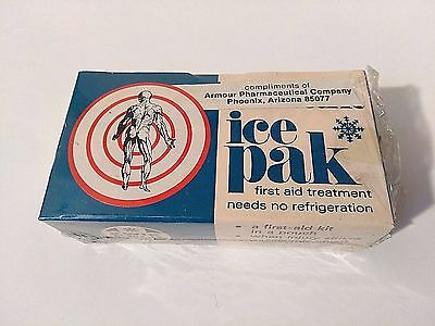 Vintage Kwik Kold ice pak First Aid Treatment in the Original Box