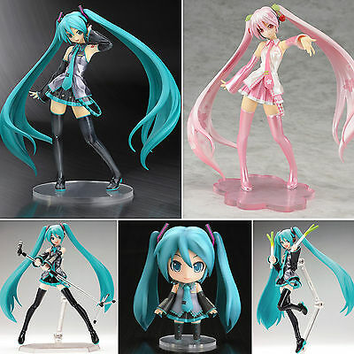 Anime Vocaloid Hatsune Miku PVC Action Figure Figurine Figma Collection Toy Gift