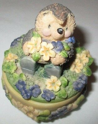 Gordon Fraser Decorative Ceramic Ed Hedgehog Country Companions Box