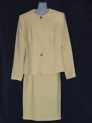"""1980's Vintage Designer """"Anthea Crawford"""" Suit with Straight Skirt."""