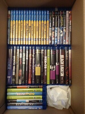 Lot of 104 Anime Blu-ray FUNimation