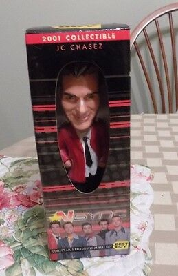 Nsync JC Chasez Bobble Head Limited Edition 2001 New in Box from Best Buy