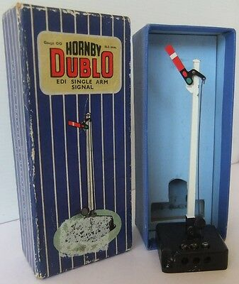 HORNBY DUBLO ED1 electric Single Arm Home Signal - (Boxed)