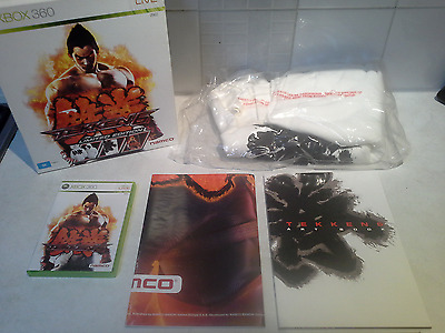 tekken 6 collectors edition xbox 360 complete PS3
