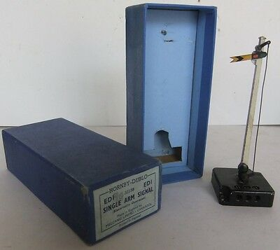 HORNBY DUBLO ED1 electric Single Arm Distant Signal - (Boxed)