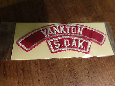 Vintage Rare Yankton South Dakota From Boy Scouts of America Sioux Council