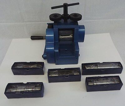 New Jewelers Combination Rolling Mill with 7 Rollers Jewelry Design Tool
