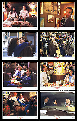 GROUNDHOG DAY Rare LOBBY CARD SET Bill Murray Andie MacDowell
