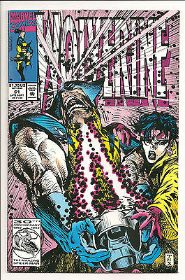 Wolverine Lot of 4 #61,62,71 & 76 NM- 1992-1993