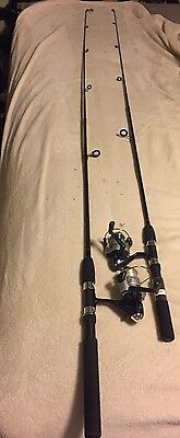 2 OKUMA ELITE Spinning Rod And Reel Combos