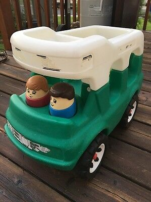 STEP 2 Camper People Happy Family Vtg Little Tikes Bigger Chunky