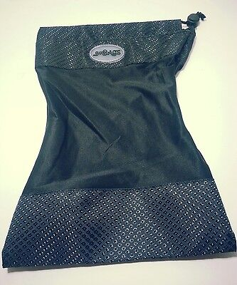 GoBags Stretchable Drawstring Item Bag Fits Items as Big as a Pair of Shoes